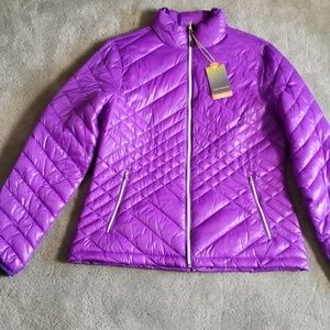 NWT Tek Gear Sz L purple jacket